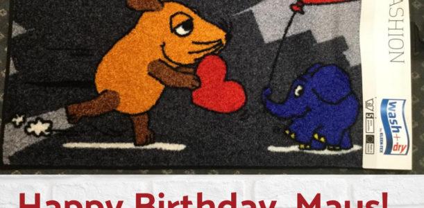 Herzlich Willkommen – sagt die Maus seit 50 Jahren!